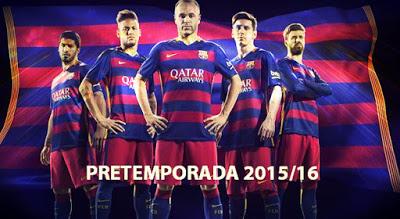 Pretemporada Barcelona 2015