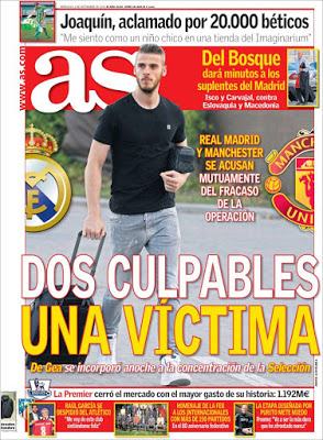 Portada AS: Dos culpables una víctima
