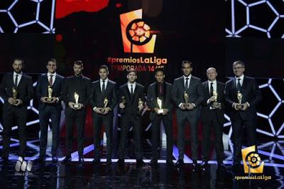 Imágenes de la gala de Premios La Liga 2014-2015