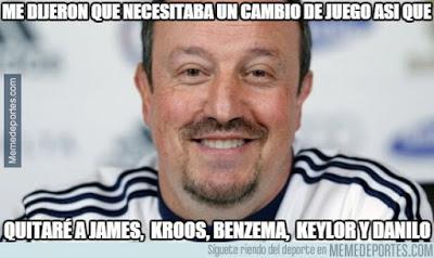 Los memes graciosos del Shakhtar-Real Madrid: Champions 2015 benitez
