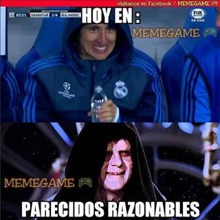 Los memes graciosos del Shakhtar-Real Madrid: Champions 2015 modric