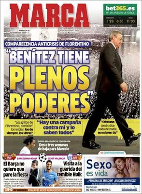 Portada Marca: Benitez ratificado