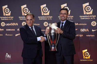 Imágenes de la gala Premios La Liga 2014-2015