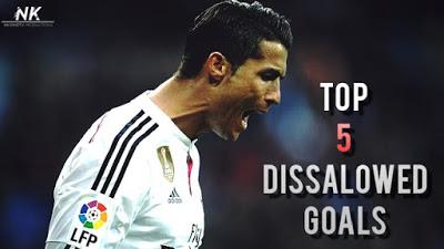 Los 5 golazos anulados a Cristiano Ronaldo