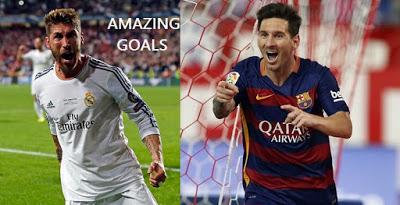 Los mejores goles como nunca los habías visto: perspectiva fan ramos messi