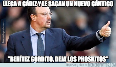Los mejores memes de la Copa del Rey: dieciseisavos benitez pohskitos