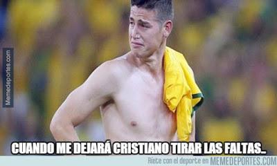 Los mejores memes del Real Madrid-Getafe: Jornada 13 james rodrigez