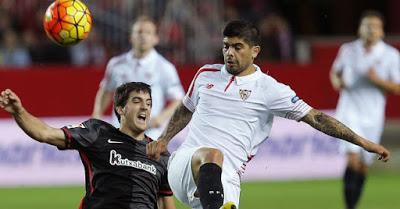 Sevilla 2-Athletic Bilbao 0. Jornada 19 Liga Española