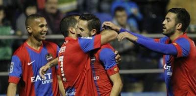 Levante 3-Las Palmas 2. Jornada 21 Liga Española
