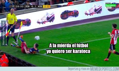 Los mejores memes del Barcelona-Athletic: Copa del Rey