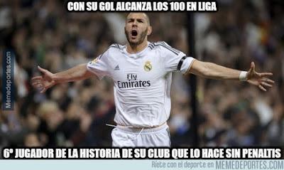 Los mejores memes del Real Madrid-Deportivo: Jornada 19 benzema