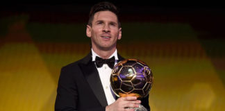 Lionel Messi Balón de Oro 2015