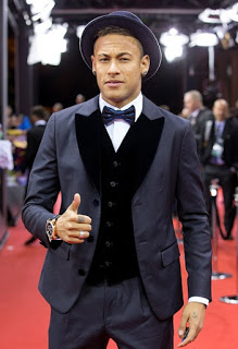 Las mejores imágenes de la gala del Balón Oro 2015 neymar