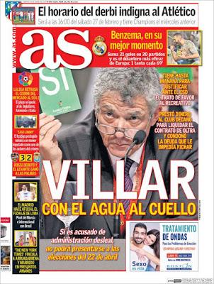 Portada AS: Villar