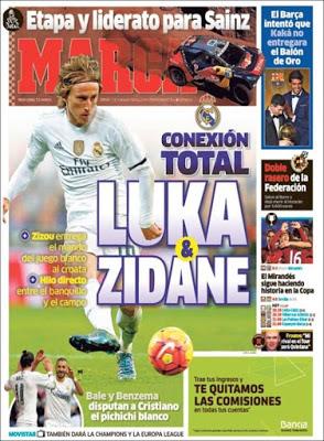 Portada Marca: Luca-Zidane