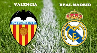 Alineación y previa Valencia-Real Madrid. Jornada 18