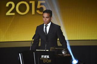 Wendell Lira premio Puskas 2015. Mejor gol del año