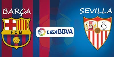 Alineación y previa Barcelona-Sevilla. Jornada 26