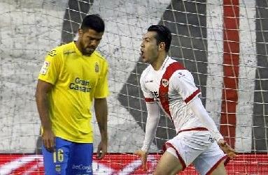 Rayo Vallecano 2-Las Palmas 0. Jornada 23 Liga Española