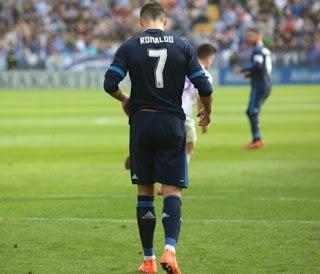 Málaga 1-Real Madrid 1. Jornada 25 Liga Española cristiano ronalo
