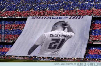 Los mejores memes del Barcelona-Valencia: Copa del Rey cheryshev