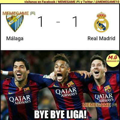 Los mejores memes del Málaga-Real Madrid: Jornada 25