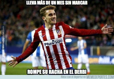 Los memes del Real Madrid-Atlético más divertidos. Liga BBVA