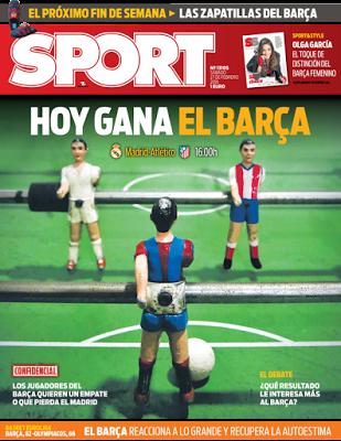 Portada Sport: Hoy gana el Barça