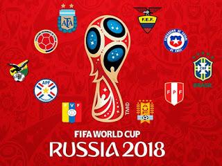 Eliminatoria Mundial Rusia 2018: Jornada 6