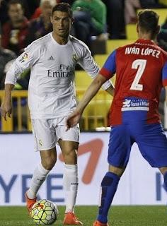 Levante 1-Real Madrid 3. Jornada 27 Liga Española