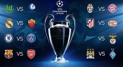 Octavos Champions League 2016. Partidos de vuelta