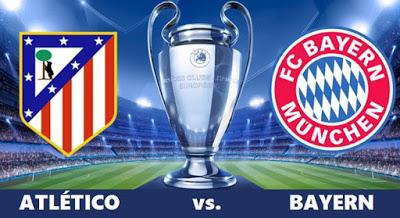 Atlético Madrid-Bayern Munich: Semifinales Champions 2016. La Pormo