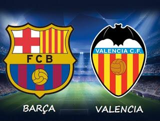 Alineación y previa Barcelona-Valencia. Jornada 33