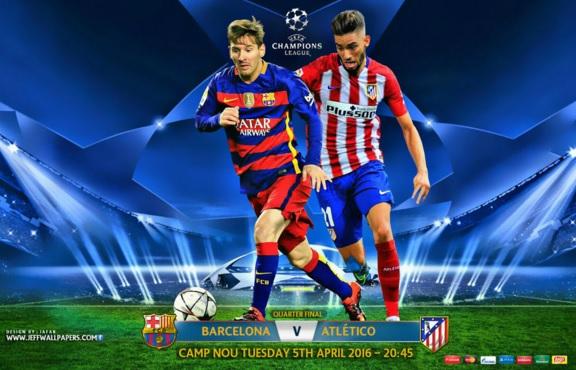 Barcelona-Atlético Madrid: alineación y previa. Cuartoss Champions 2016 (ida)