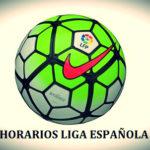 horarios liga española jornada 36