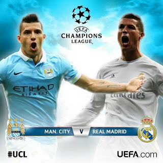 Manchester City-Real Madrid: Semis Champions 2016. La Pormo