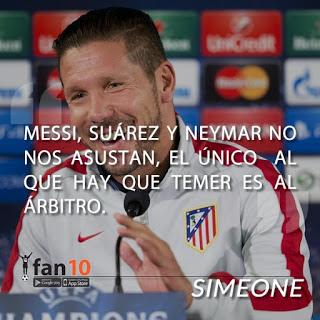Los memes del Atlético Madrid-Barceloa champions 2016 simeone cholo