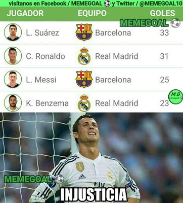 Los memes del Barcelona-Sporting más divertidos. Liga BBVA injusticia cristiano ronaldo