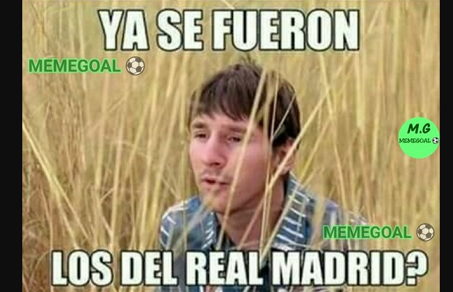 memes barcelona vs real madrid