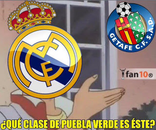 Los memes del Getafe-Real Madrid más divertidos. Liga BBVA