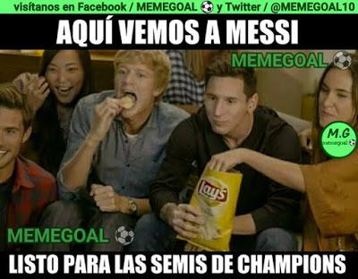 Los memes del M. City-Real Madrid más divertidos: Semis Champions messi