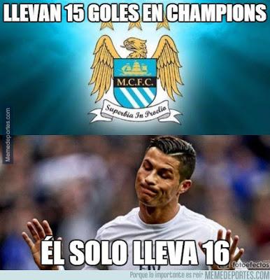 Los memes del M. City-Real Madrid más divertidos: Semis Champions cristiano ronaldo