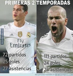Los memes del Rayo Vallecano-Real Madrid más divertidos. Liga BBVA zidane james