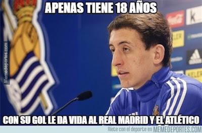 Los memes del Real Sociedad-Barcelona más divertidos. Liga BBVA oyarzabal