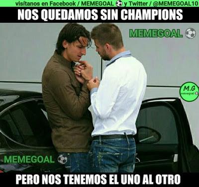 Los memes del sorteo de Champions League más divertidos: Semifinale pique zlatan ibrahimovic