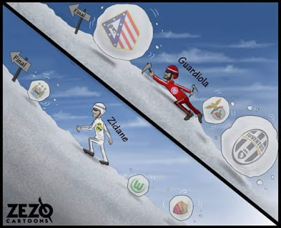 Los memes del sorteo de Champions League más divertidos: Semifinale