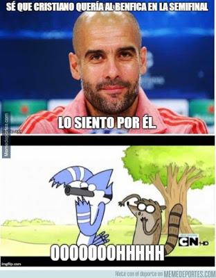 Los memes del sorteo de Champions League más divertidos: Semifinales pep guardiola