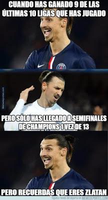 Los mejores memes del sorteo de semifinales Champions League  ibrahimovic
