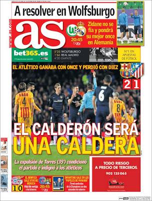 Portada AS: El Calderón será una Caldera