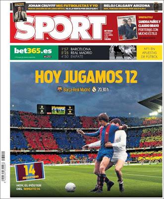 Portada Sport: hoy jugamos 12